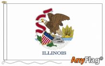 - ILLINOIS ANYFLAG RANGE - VARIOUS SIZES